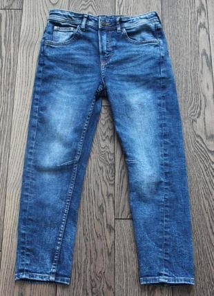 Стильные джинсы h&m для мальчика ,130-140 см,р.9-10 лет