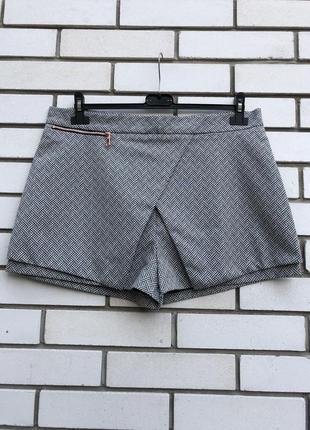 Ассиметричные шорты юбка на запах river island