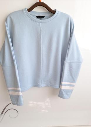 Крутой  свитшот new look  кофта свитер лонгслив кроп-топ !