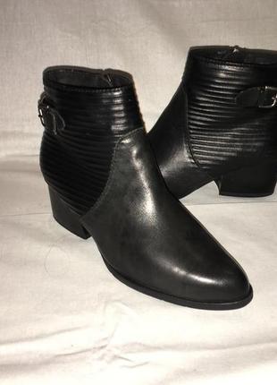 Ботинки *tamaris* кожа германия р.37 ( 24.00 см)
