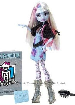 Monster high эбби боминейбл - день фотографии abbey bominable picture day