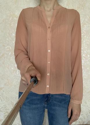 Легкая шифоновая блузка