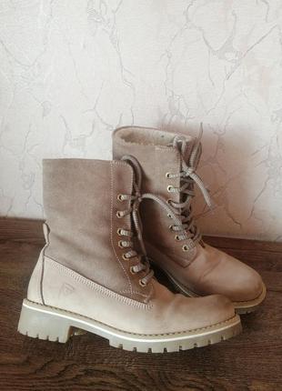 Сапоги ботинки осень-зима чоботи черевики