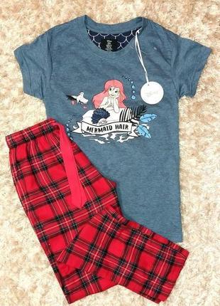 Пижама или костюм для дома английского бренда primark, анг. 4-6 р. (евро 32-34 р.)