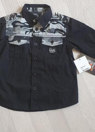 Рубашка на мальчика 2т