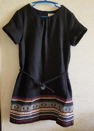 Платье zara 9-10 лет