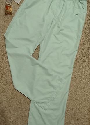 Billcee летние спортивные брюки мятного цвета
