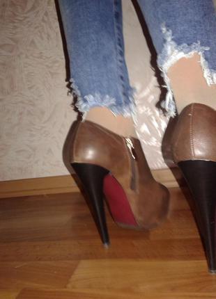 Ботинки осень весна elmira