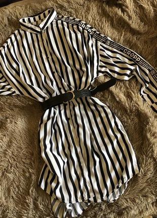 Платье рубашка cropp