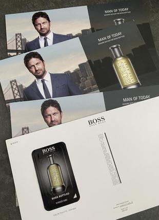 Набор из 4х пробников hugo boss boss bottled