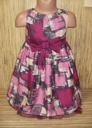 Нарядное платье m&co на 3-4 года