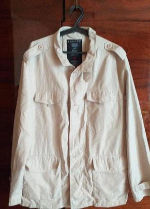 Нова ,стильна чоловіча куртка великого розміру,без підкладки, легенька.
