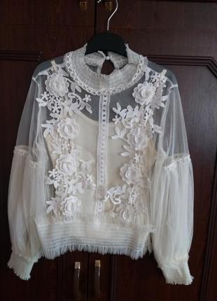 Блузка з топом