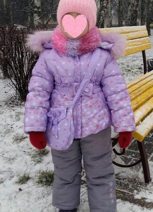 Зимний комбинезон кико