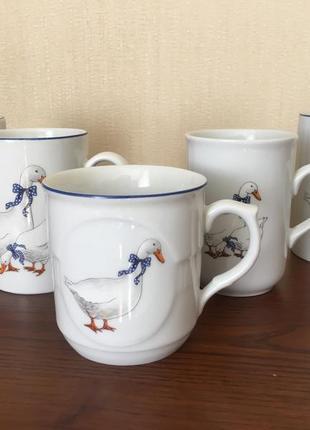 Набор из пяти чашек