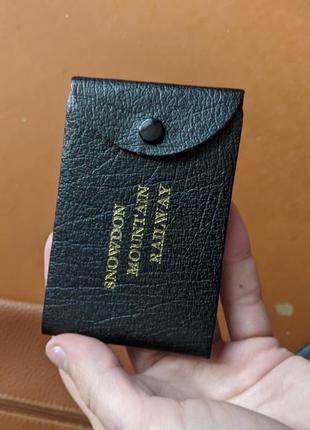 Визитница , кошелек для карточек snowdon mountain railway
