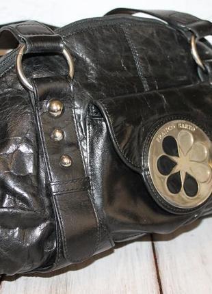Sale!вместительная кожаная сумка franco sarto всего за 220 грн!