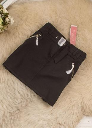 Очень стильная мини юбка от дорогого брнеда rure originals рр 12 наш 46