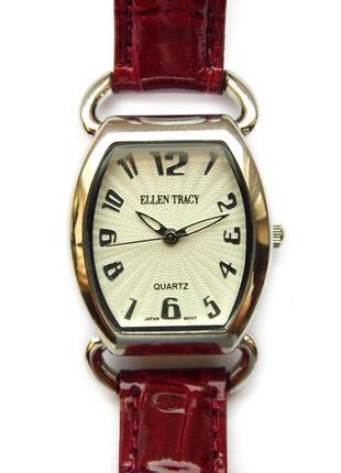 Ellen tracy часы из сша кожа механизм japan sii