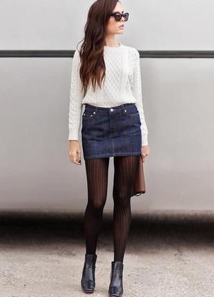 🌺🎀🌺красивая короткая женская джинсовая юбка dorothy perkins🔥🔥🔥