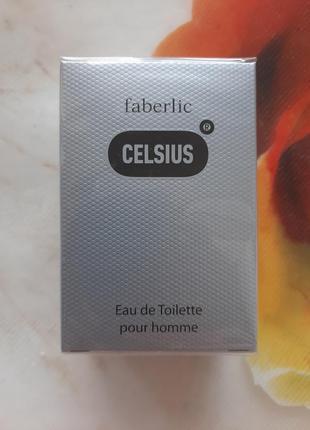 Туалетная вода faberlic celsius