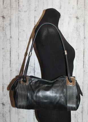 Sale!итальянская кожаная сумка gilda tonelli всего за 200 грн