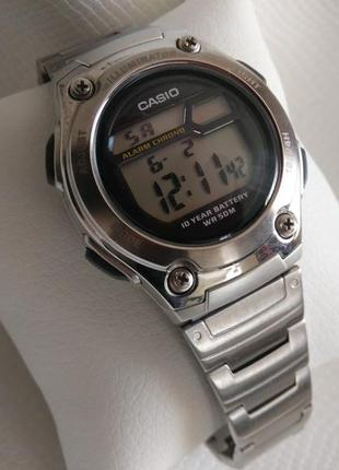 Наручные часы casio w-211d-1avef.