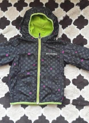 Демисезонная куртка-ветровка columbia, для дождливой погоды