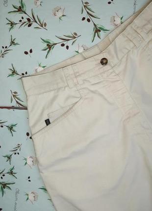 🎁1+1=3 стильные светло-серые шорты бермуды высокая посадка backtee, размер 46 - 486 фото