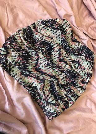 Мини-юбка с принтом 🔥 размер xs/s