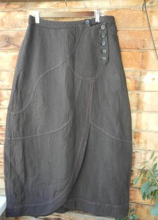 Обалденная теплая натуральная юбка в стиле бохо