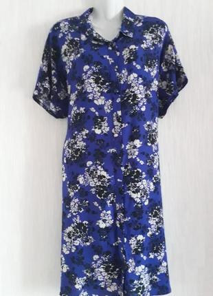 Платье -  халат  натуральный 46 евро размера