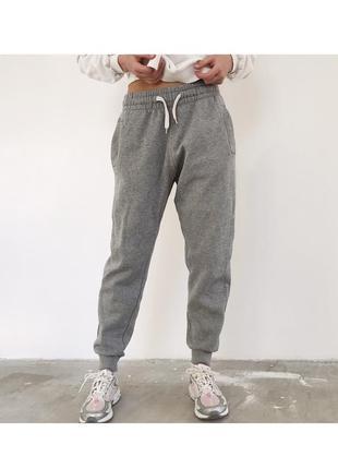 Серые спортивные штаны джаггеры джогеры h&m