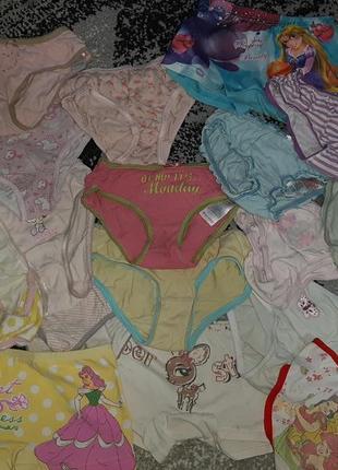 Трусики для девочки 2-4 годика