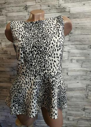 Классная блузка с басккой