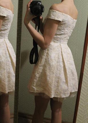 Шикарное нарядное платье topshop, размер xxs/xs