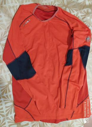 Спортивный мужской рашгард mammut alpine underwear