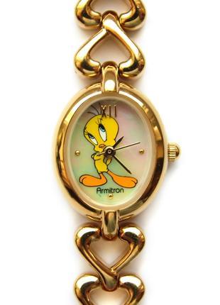 Armitron твити перламутровые часы из сша мех. ronda swiss