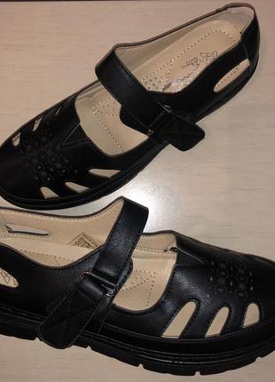 Женские туфельки на липучке