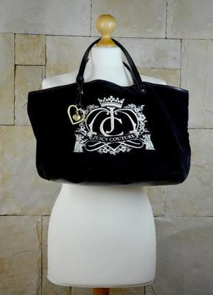 Акция 1+1=3!велюровая сумка juicy couture оригинал