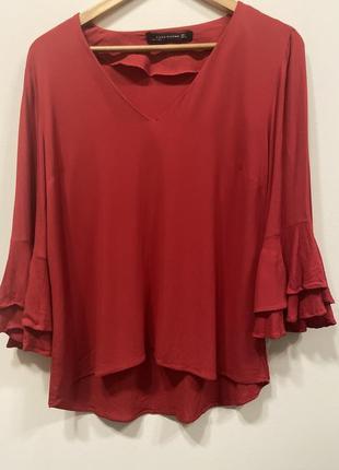 Блуза zara p.l. #283. sale!!! 1+1=3🎁