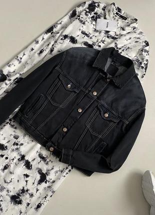 Крутая джинсовая куртка оверсайз zara#джинсовый пиджак оверсайз зара