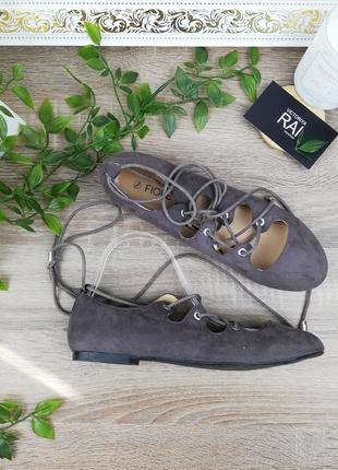 🌿38🌿европа🇪🇺 fiore. классные туфли на актуальной шнуровке