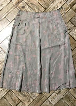 Роскошная юбка оригинального кроя,жаккард,ацетат,pretzel a porter