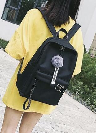 Рюкзак с кольцами2 фото