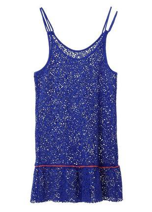 Новое быстросохнущее пляжное платье/туника, кружево banana moon, monaco