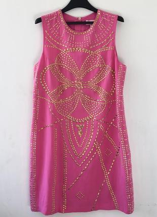 Шелковое платье versace h&m