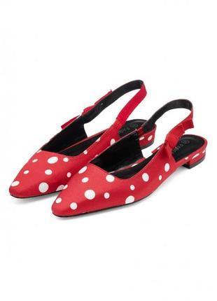 Туфли с открытой пяткой madlene