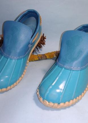 Ботинки калоши резиновые канада 26 р
