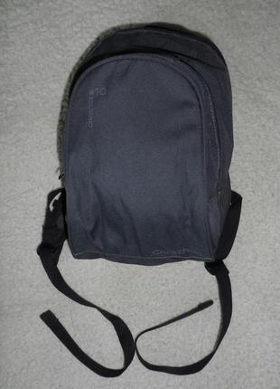 Рюкзак детский темно-серый